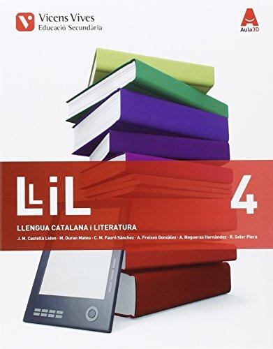 LLIL 4 (LLENGUA I LITERATURA) ESO AULA 3D: 000001 - 9788468235998