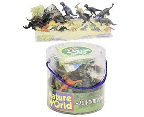 18 Piece Dinosaurs In
