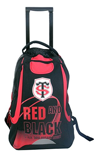 Sac ? dos ? roulettes TOULOUSE - Collection officielle STADE TOULOUSAIN - Stade Toulousain