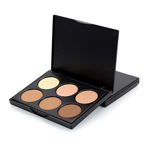 Culater® Professional 6 Couleurs Contour Crème Visage Maquillage Cosmétiques Palette (B)