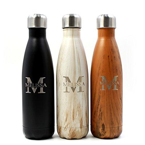 Incisione personalizzata water bottle personalizzati regalo per lui o lei