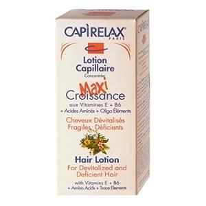 Capirelax Paris Lotion Capillaire Maxi Croissance à l'Huile d'Olive et Vitamine B5 B6 E 125ml