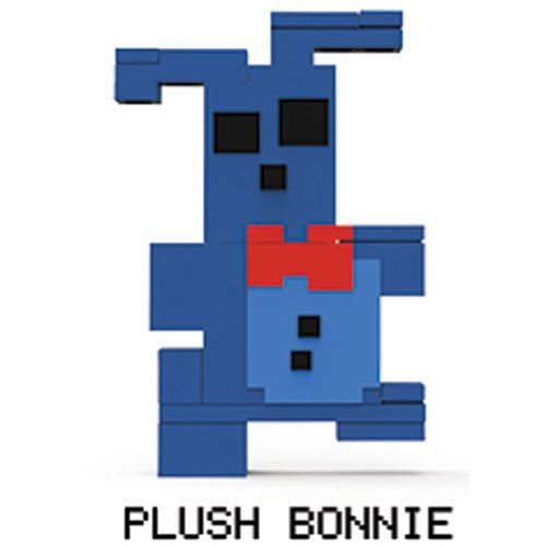 Five Nights at Freddy's 8-Bit Buildable Figure: Plush Bonnie