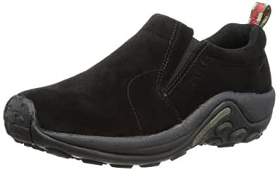 Merrell Jungle Moc, Men's Lace-Up Loafer Shoes - Midnight, 6.5 UK