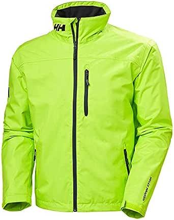 Helly Hansen Men's Crew Midlayer Waterproof Jacket - Waterproof, Windproof and Breathable Fabric, Full-Zip Jacket with Fleece Lined Collar