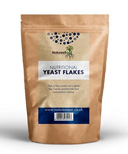 Natures Root Lievito Alimentare in Scaglie - Vegetariano e Vegano | Miglior Gusto | Qualità Premium (500g)