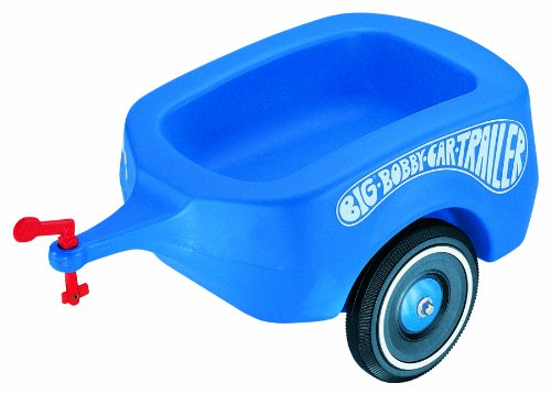 Big 800001311 Bobby Car Trailer, blau