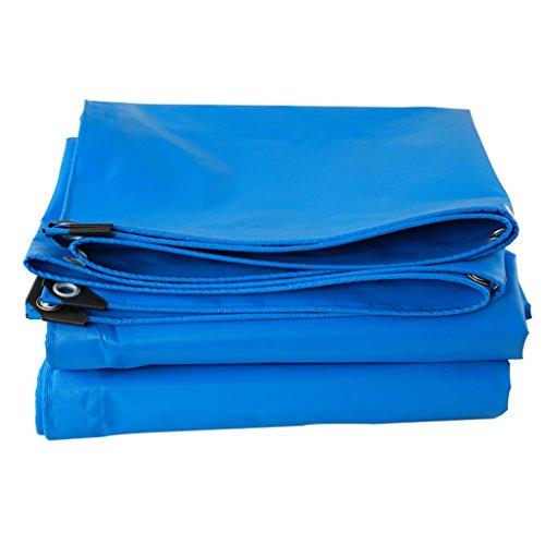 Shading Net PH HTZ Bâche, Revêtement De Sol en Toile De Bâche Imperméable À l'eau, Haute Efficacité, Protection Solaire Étanche À L'humidité - Bleu-0.6mm-400g/㎡ A+ (Taille : 3X4M)