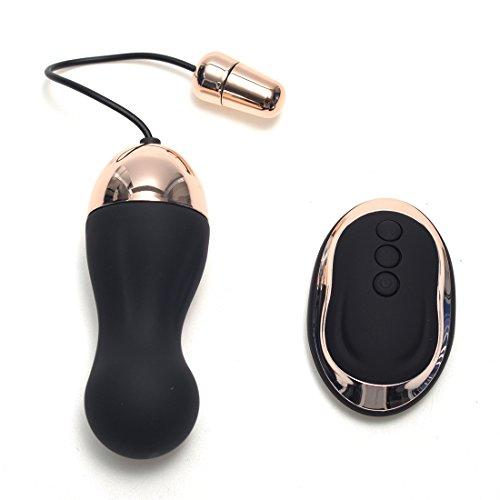 Himall Silikon 10 Frequenz Bullet Vibrator Vibro Ei mit Kabellos Fernbedienung für Masturbation Orgasmus