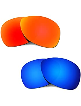 Hkuco Plus Replacement Lenses For Oakley Crosshair (2012) 2 pair Combo Pack