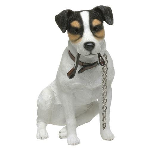 Sitzender Jack Russell Terrier Leonardo Walkies Range of Collectable Dogs Deko (17cm H) -