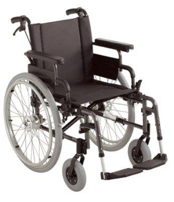 Rollstuhl Action 2, mit Trommelbremse lang SB 43 cm
