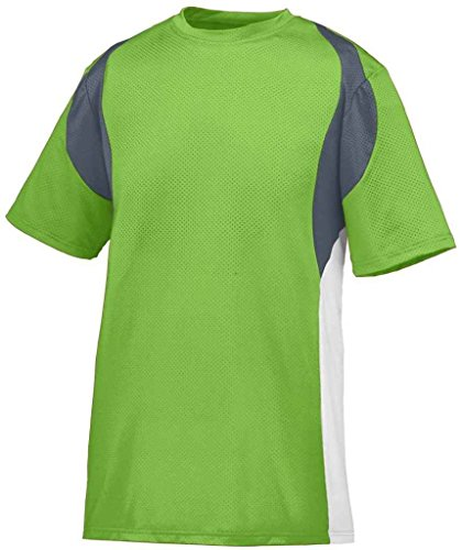 Augusta Herren T-Shirt LIME/GRAPHITE/WHITE