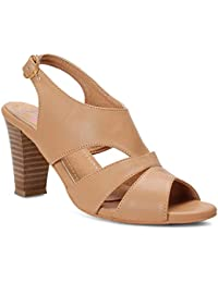 Meriggiare Women Synthetic Beige Heels