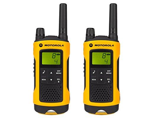 Motorola T80 Extreme Walkie Talkie Radio 8 canali (10000 m, AAA, Nickel-Metal...