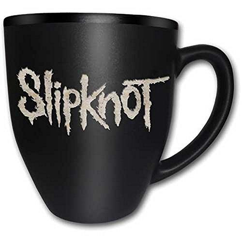 SLIPKNOT-Tazza in ceramica-Logo-Con incisione-Confezione regalo
