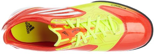 adidas F10 TRX Astro Turf Football Boots - 9 Jaune-Rouge