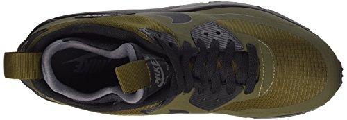 Nike Herren Air Max 90 Mid Wntr Laufschuhe Verde / Marrón / Negro / Gris (Dark Loden/Black-Dark Grey)