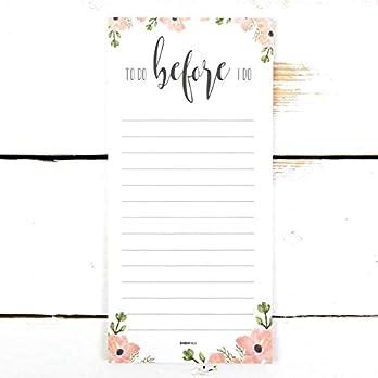 Notizblock Hochzeitsplanung *To do before I do*, Hochzeit planen, To-Do-Liste, Aufgaben Hochzeit