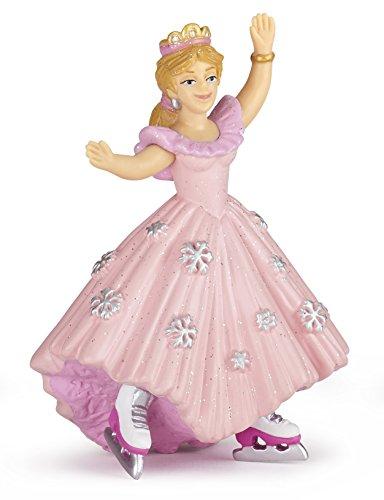 Papo 39126 Prinzessin Mit Schlittschuhen. Rosa, Spiel Unisex-Kinder