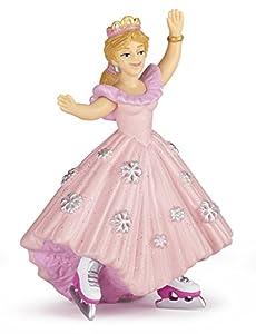 Papo 39126 - Figura de Princesa con Patines de Hielo, Color Rosa