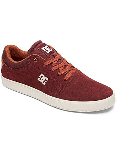 DC Shoes Crisis, Baskets mode homme Rouge - Burgundy/Tan