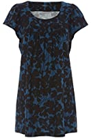 Womens Wool Touch Tunic - Ladies - Blue - Size 10 12 14 16