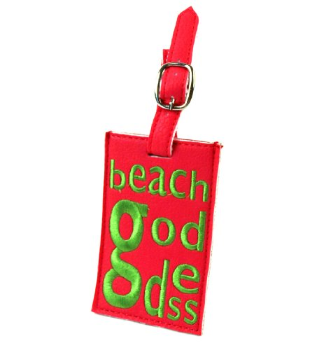 Beach Goddess Luggage Tag