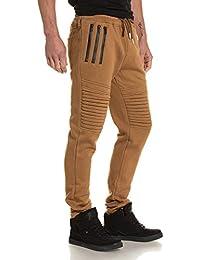 Sixth June - Pantalon homme jogging molleton camel
