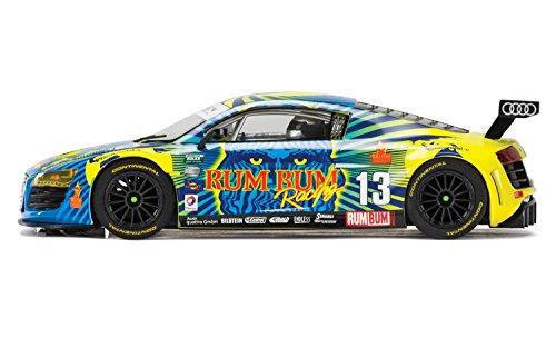 Scalextric Audi R8 LMS Rum Bum Racing 1:32 Slot Car C3854 Mult