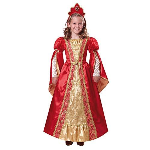 My Other Me Me - Disfraz de Reina, talla 7-9 años, color rojo (Viving Costumes MOM01172)