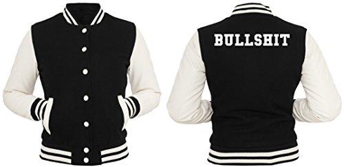 Bullshit Giacca Collegio Girls Nero-XL