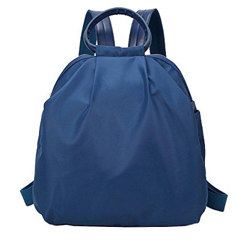 Donne Yy.f Sacchetto Di Spalla Di Nylon Sacchetti Di Spalla Di Modo Sacchetti Delle Signore Borse Da Viaggio Pratico Interno Colore 2 Blue