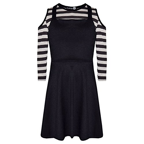 A2Z 4 Kids® Girls Skirts Kids Pinafore Skirt Dungaree & Crop Top All in One Jumpsuit Playsuit New Age 7 8 9 10 11 12 13 Years