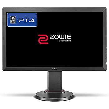 BenQ ZOWIE RL2460 24 Inch Console e-Sports Gaming Monitor (Officially Licensed for PS4/PS4 Pro, Head-to-Head Combat Station Setup), 1 ms, Dark Grey