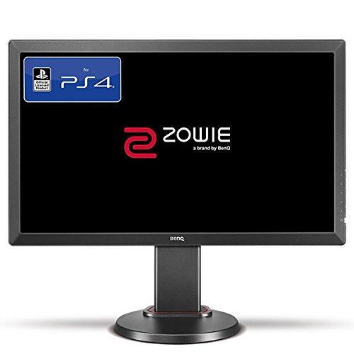 BenQ ZOWIE RL2460 60,96 cm (24 Zoll) Konsolen e-Sports Gaming Monitor (offiziell lizensiert für PS4/PS4 Pro, Head-to-Head Setup, Höhenverstellung, 1ms Reaktionszeit) grau