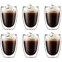 6 Pieces Double Wall Glasses (medium)