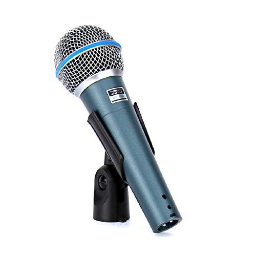 58A Professionelle Bühnensänger Gesang Wired Mic Dynamisches Mikrofon für Videoaufnahmen BETA58A BETA 58 Karaoke System KTV ()