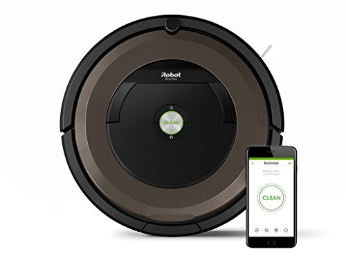 iRobot Roomba 896, Negro, Marró