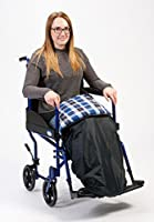 Water Resistant Padded Leg Cosy With Attachment Straps For Security