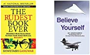 The Rudest Book Ever+Believe in Yourself(Set of 2 books)
