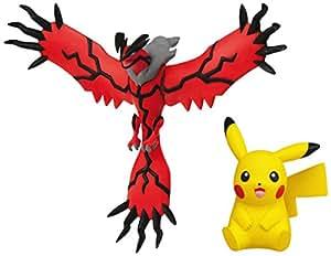 Tomy Pokémon - T18663 - Figurine Manga - Légendaire - Yveltal + Pikachu - Pack Maxi