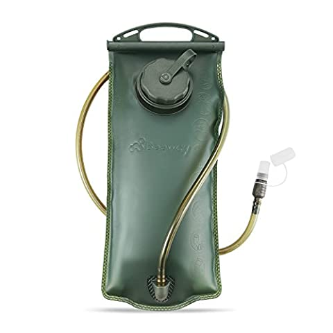 Beeway® Hydration Bladder 2 Liter/ 3 Litres Water Reservoir Pack suitable for Hydration System Backpack Bag, idea for Outdoor Cycling Climbing Hiking Running (BPA Free FDA