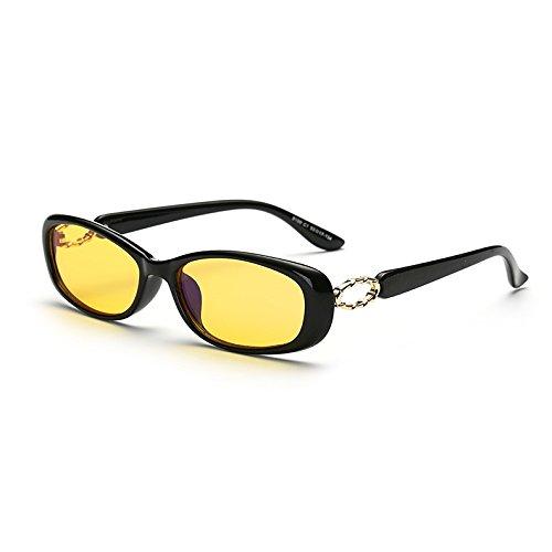 Cyxus Blaulichtfilter Computer Brille zur Blockierung von UV-Kopfschmerz [Anti Augen Belastung], Unisex (Männer/Frauen)