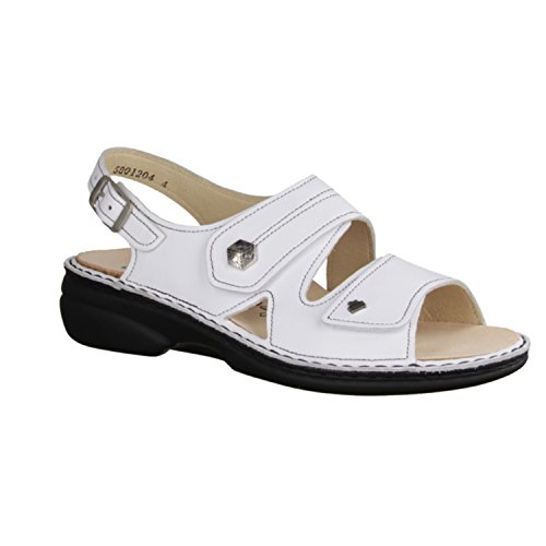 Finn Comfort  Milos, sandales femmes Blanc - Blanc