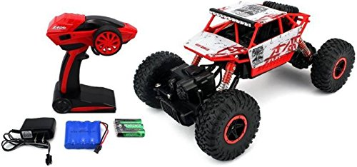 RADHE Remote Controlled Rock Crawler Car Monster Truck with 4 Wheel Drive (Assorted Colour)