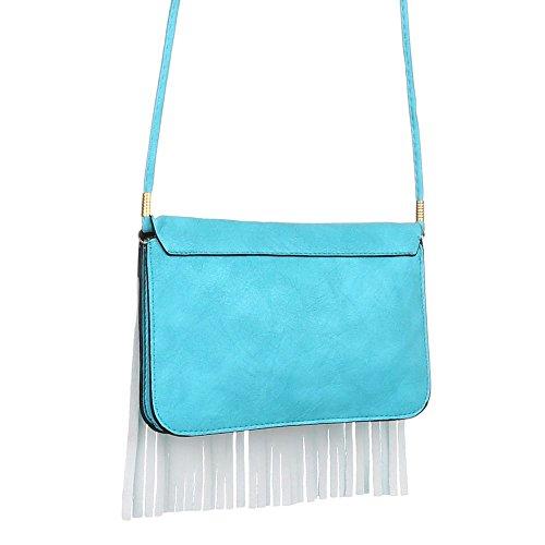 Angies Glamour Fashion, Borsa a spalla donna Verde