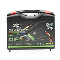 Crony Air Compressor with [300000mAh] Auto Car Jump Starter [D28A ]