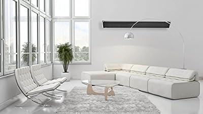 Infrarot-Dunkelstrahler CasaTherm Heatpanel-inkl. Wandhalter im Lieferumfang-vielfältige Einsatzmöglichkeiten-3200W-Farbe:alusilber/ mattschwarz eloxiert-Heatpanel Blacklight von Casatherm auf Heizstrahler Onlineshop
