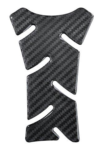 Tankpad Mini 3D - 501494 - Carbon Schwarz/sichtbare Struktur/Carbon Optik/Carbonlook - universell für Yamaha, Honda, Ducati, Suzuki, Kawasaki, KTM, BMW, Triumph und Aprilia Tanks